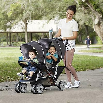Graco DuoGlider Double | Lightweight Double Stroller with Tandem