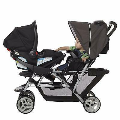 Graco DuoGlider Double Stroller | Lightweight Double Stroller with