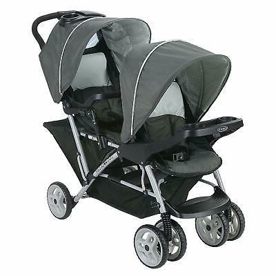 Graco Double Stroller | Lightweight Stroller w/Tandem Seating- 1980461