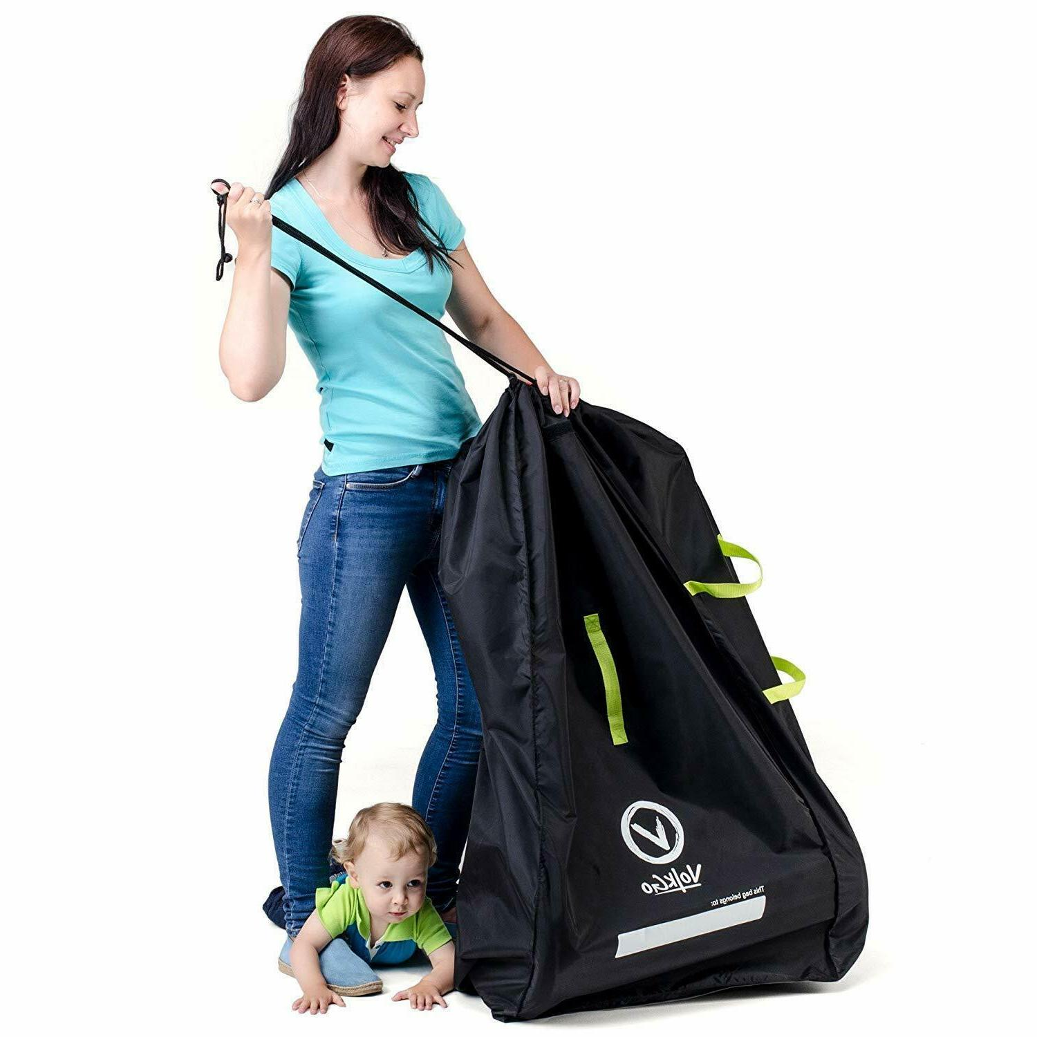 Durable Bag for Airplane Double/Dual Stroller Gate