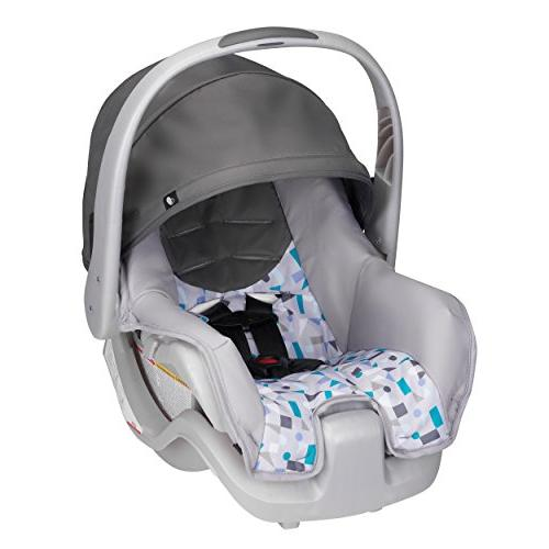 evenflo nurture infant car seat teal confetti