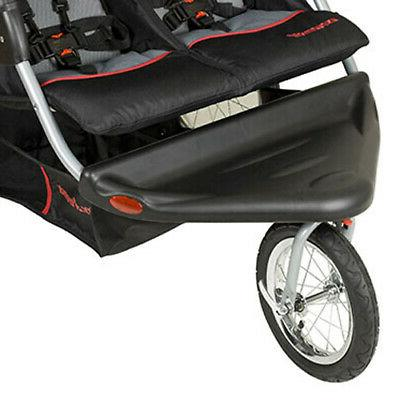 Baby Expedition Swivel Travel Double Baby Stroller,