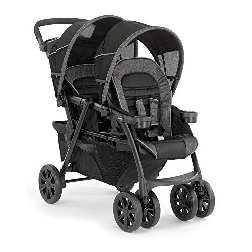Chicco Infant Toddler Rear Car w/Base, Chicco Cortina Infant Stroller, Minerale