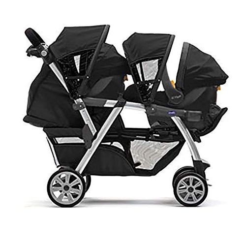 Chicco Infant Toddler Rear Car w/Base, Chicco Cortina Together Infant Baby Stroller,