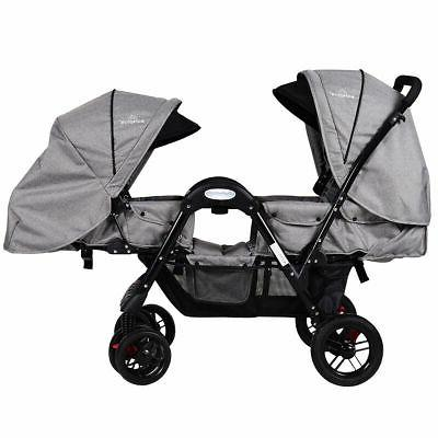 foldable face to face twin baby stroller