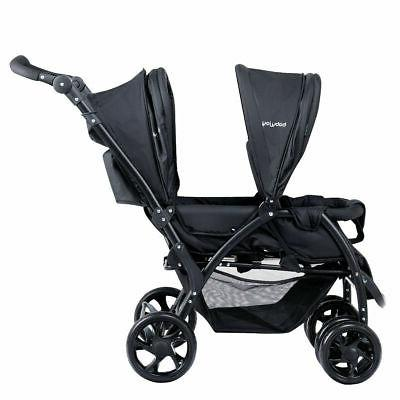Foldable Twin Stroller Travel Stroller Infant