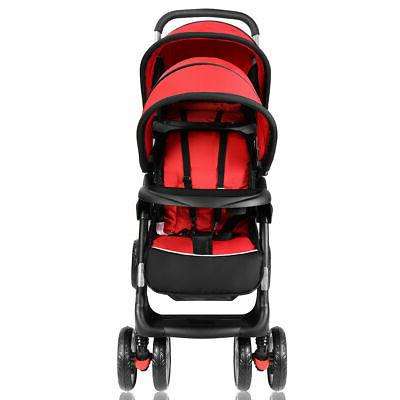 Foldable Baby Infant Red