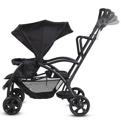 Folding Baby Stand Ultra Tandem Pushchair Double