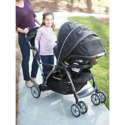 Graco RoomFor2 Click Stand and Stroller,