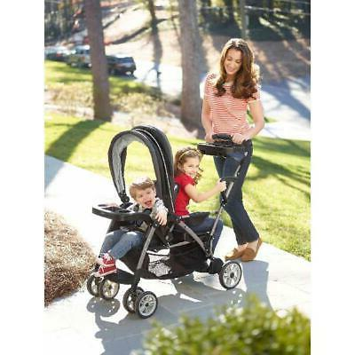 Stand Double Stroller,