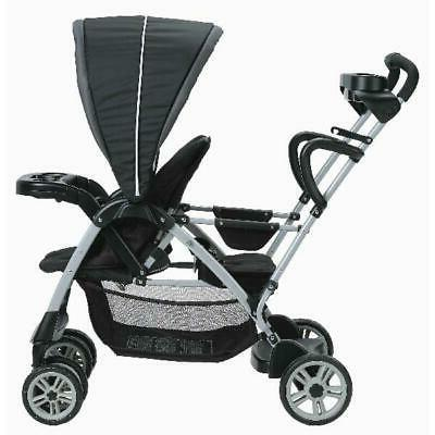 Graco RoomFor2 Connect Stand Stroller, Gotham