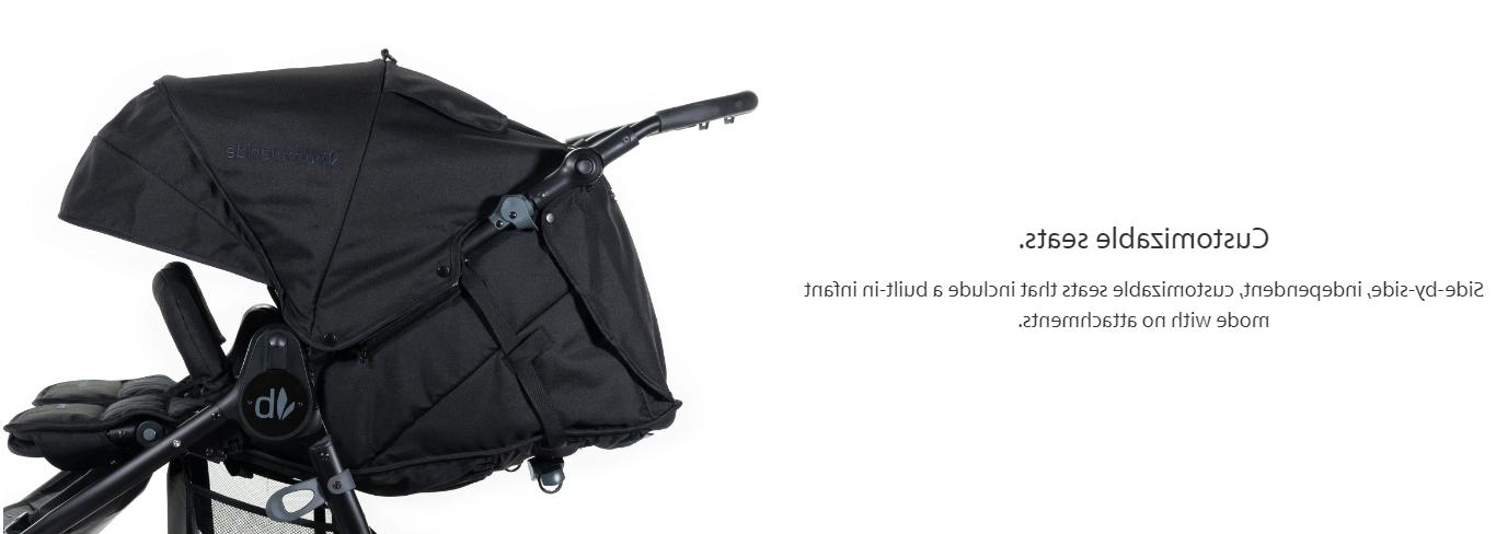 Bumbleride Indie Twin Fold Double Stroller Sea