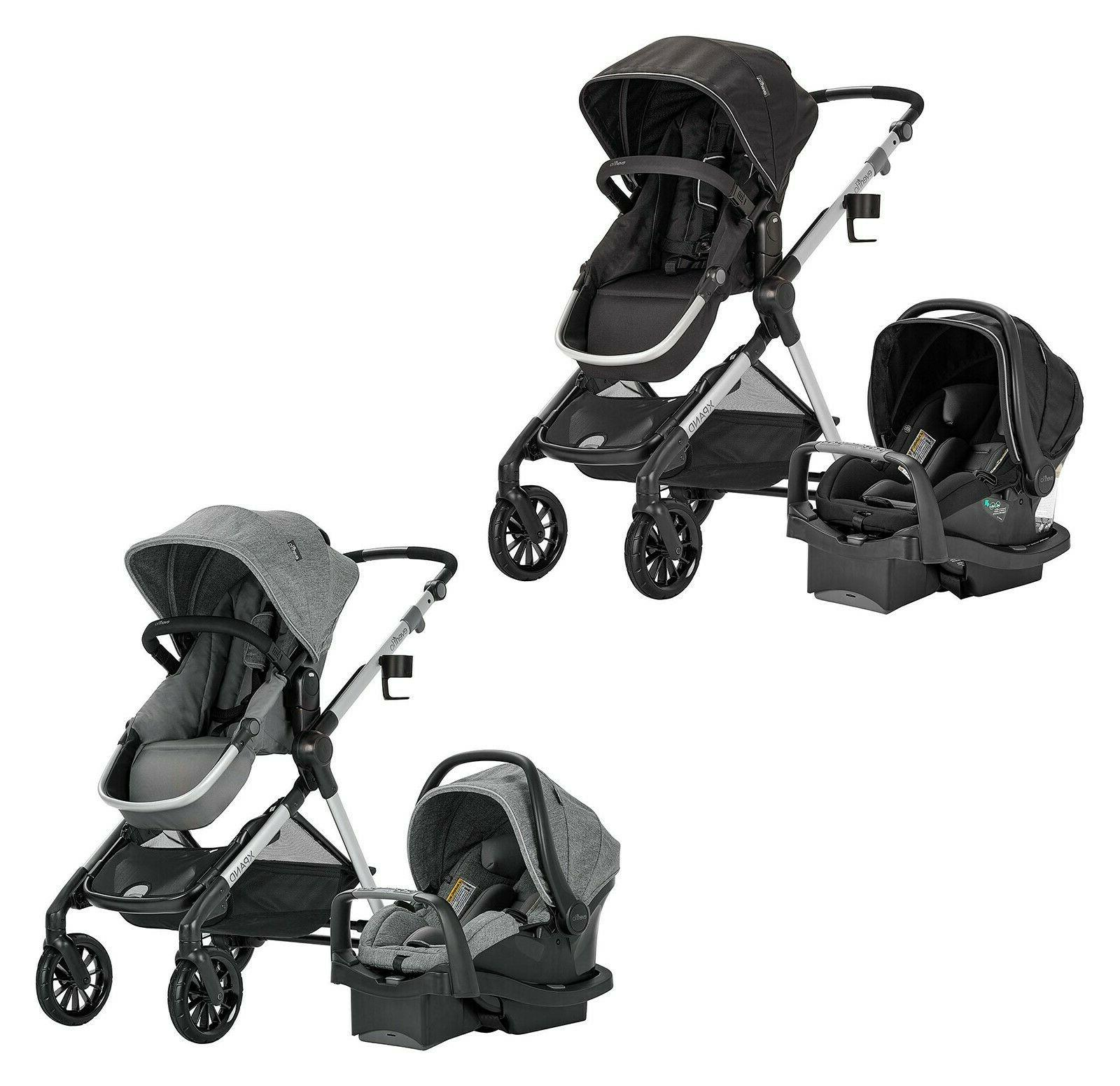 infant car seat stroller travel system pivot