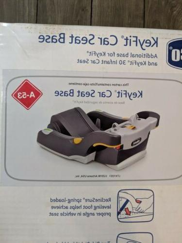 Chicco Keyfit And 30 Anthracite Infant Car Seat / Grey