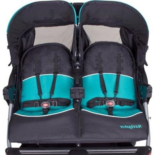 Luxurious Double Baby Twins Push Child Infant New