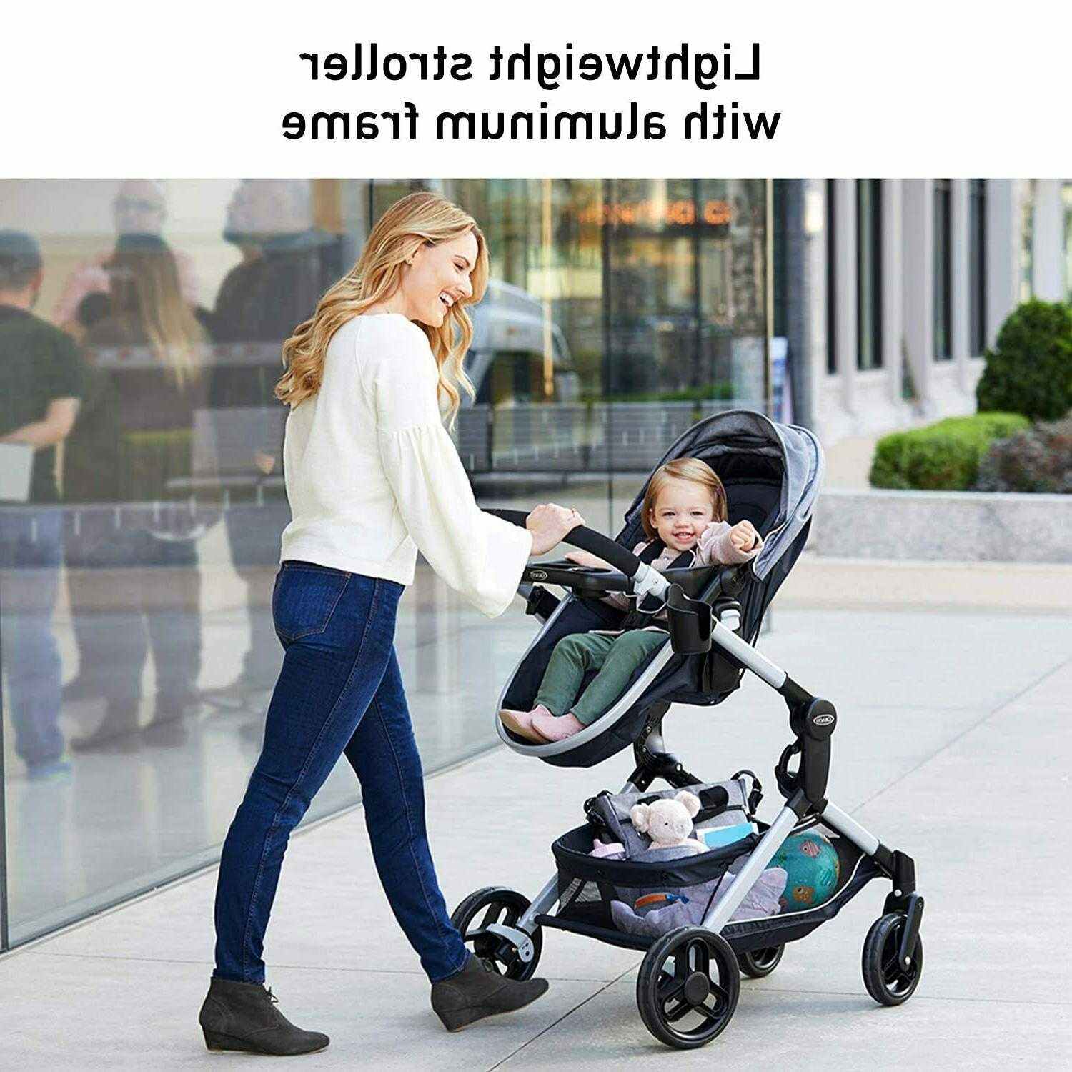 Graco Modes Baby Stroller Height Adjustable Seat