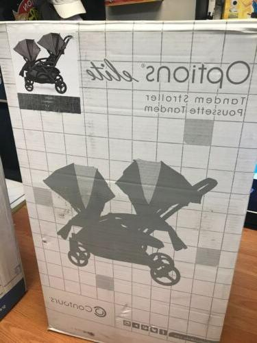 new options elite tandem double stroller