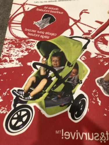 NEW Phil&Teds Buggy Double Kit