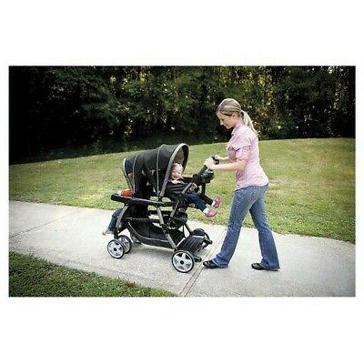 NEW Graco Connect Double Stroller - Pipp