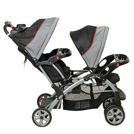 New Baby N Stand Travel System Double Stroller