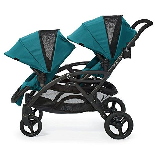 Double & Toddler Stroller, and Teal