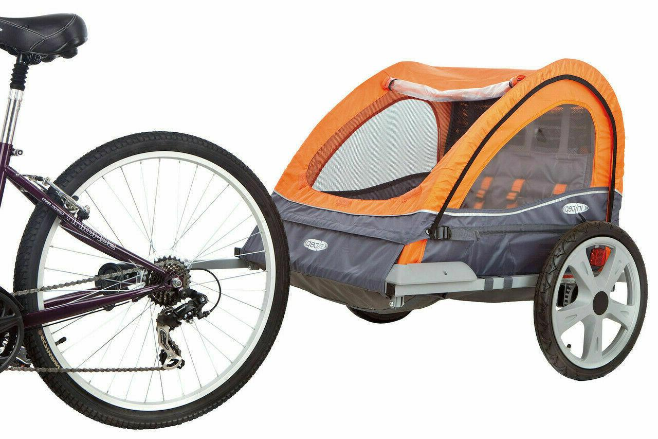 InStep Quick-N-EZ Double Bike Tow Behind Stroller Jogger