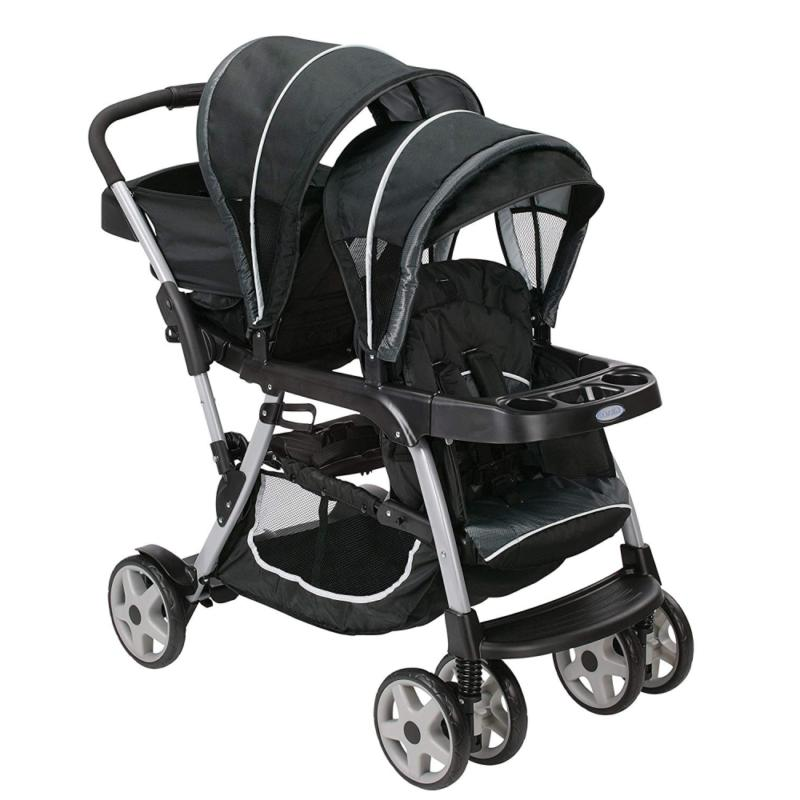 ready2grow lx double stroller gotham