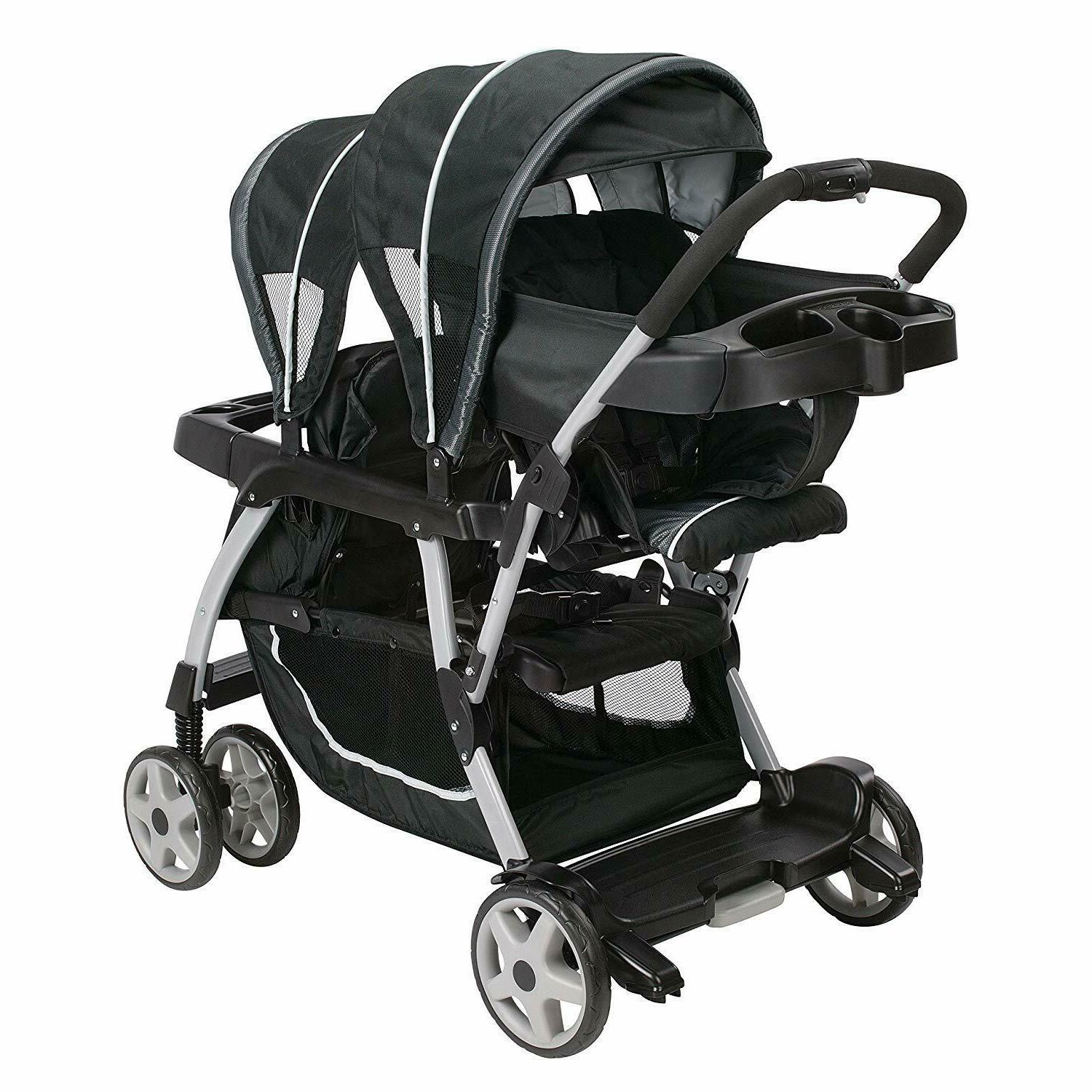 NEW! Double Stroller Double