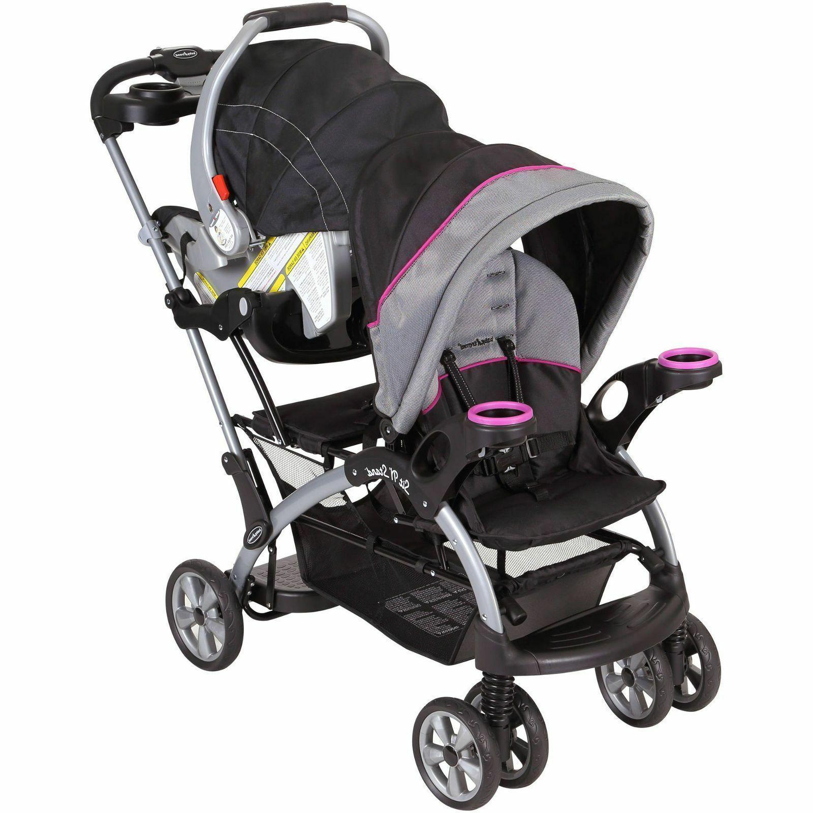 Stand Stroller Toddler Double