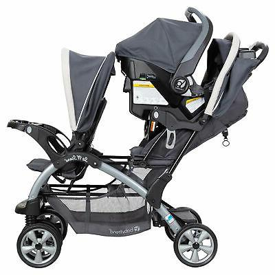 Baby Trend Sit N' Stand Fold Toddler Baby Magnolia