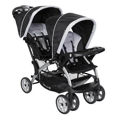 Stand Baby Double and 2 Infant Seat Stormy