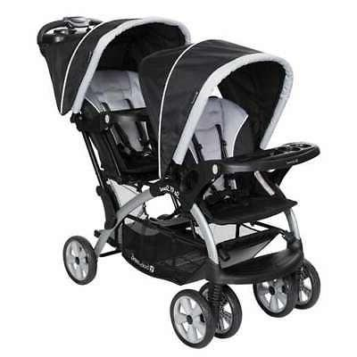 Baby Trend Sit N Stand Twin Tandem 2 Seat Double Stroller