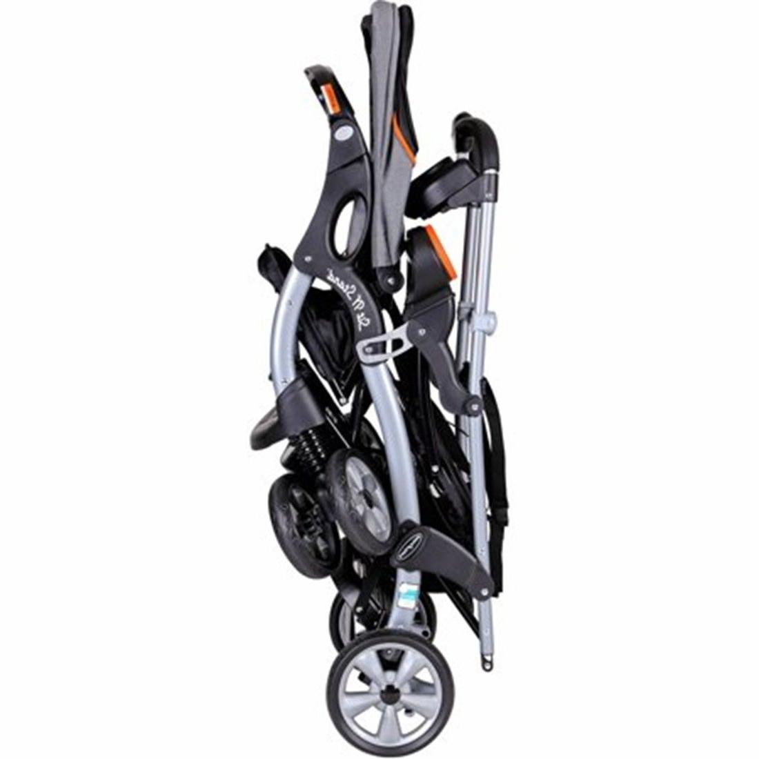 Baby Trend Sit 'N Stand Ultra Double Stroller with Orange