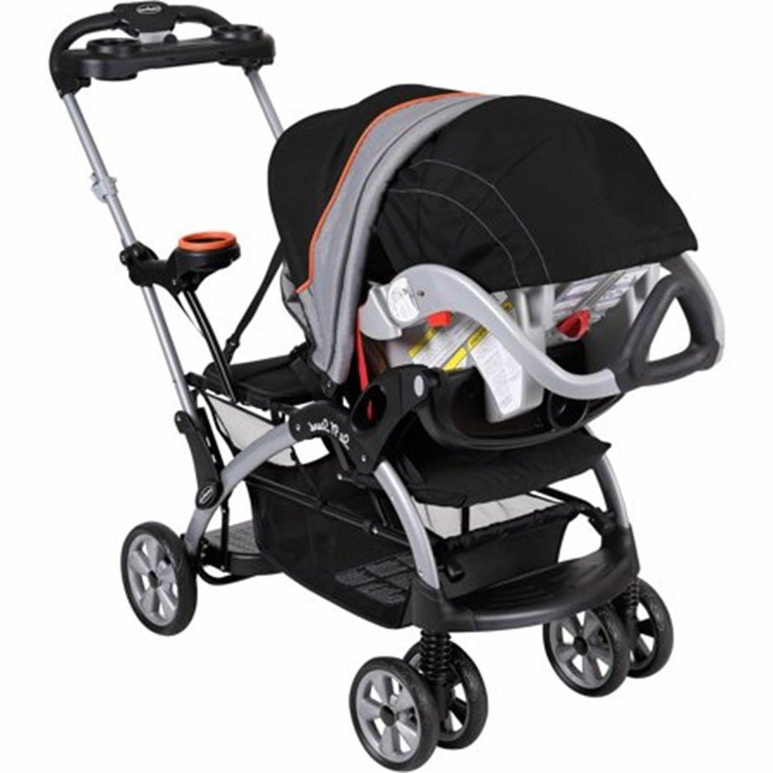 Baby 'N Stand Ultra Double Stroller with