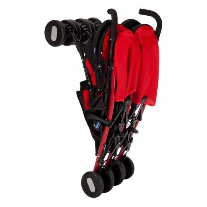 Chicco Stroller Echo Garnet Twin