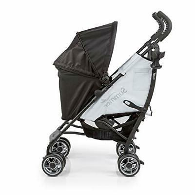Summer 3Dflip Convenience Black/Gray Stroller w