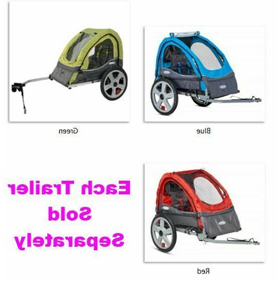 sync single bicycle trailer canopy versatile durable