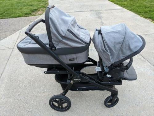 Peg Perego Stroller with Bassinet, Plus Seat