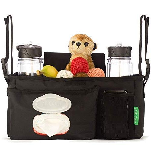 Universal with Cup Holders, Adjustable Single XL Space Diapers, Best Baby Registry