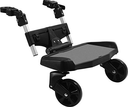universal stroller hitch riding board