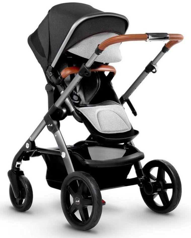 Silver Cross Wave to Double System Baby Stroller Granite