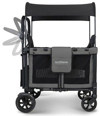 Wonderfold W2 Multi 2 Stroller Gray