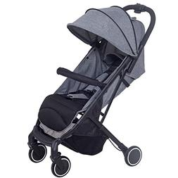 Costzon Lightweight Stroller with 5-Point Safety System and