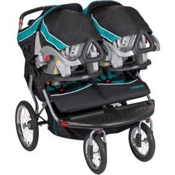 luxurious double baby stroller twins jogger push