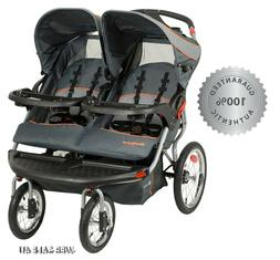 Luxury Double Baby Stroller Twins Jogger Kids Push Travel In
