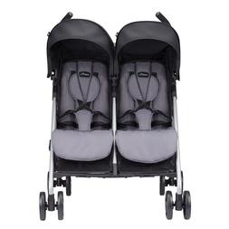Minno Twin Double Stroller, Lightweight Baby Strollers With