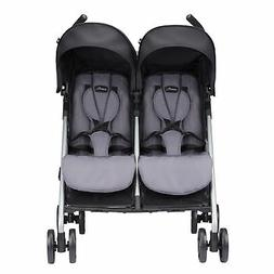 Evenflo Minno Twin Double Stroller - Glenbarr Grey