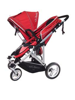 StrollAir My Duo Stroller, Red