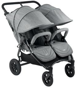Valco Neo Twin Tailormade Double Stroller - Grey Marle