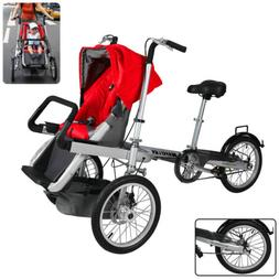 NEW 3 in 1 Stroller and Bike Combo for Toddler/Newborn and M